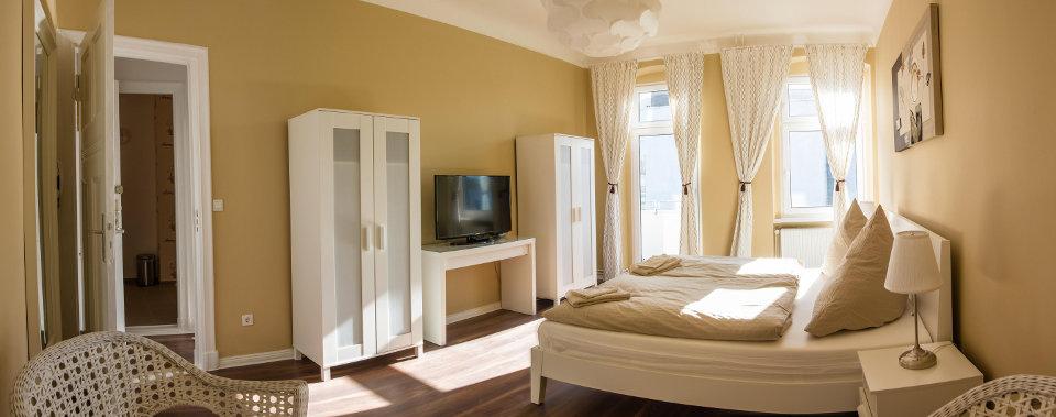 Genießen Sie die Atmosphäre und die Extras unserer Apartments.