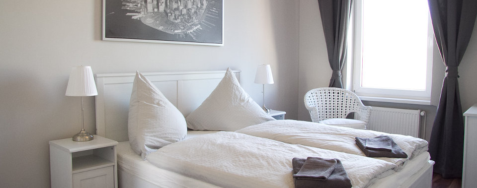 Wir bieten eine Auswahl an komfortablen Apartments und günstige Konditionen